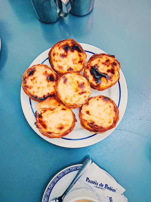 They really are the best here: Pasteis de Belem!