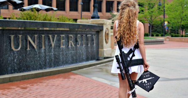 Kaitlin Bennett's Gun At Graduation: The Image Of Our Times
