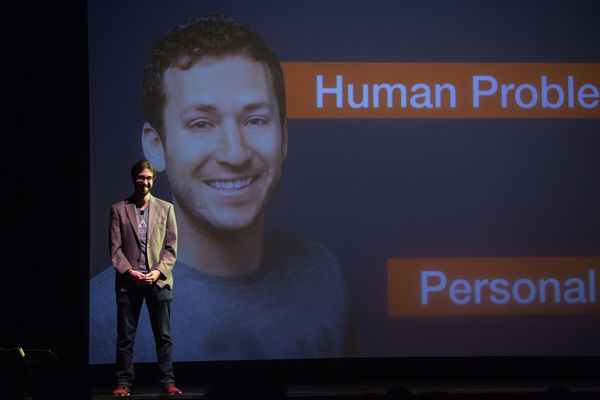"That time Ethan's head made a guest appearance at Demo Day as Netcloak's ""human problem""."