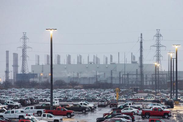 General Motors gaat de autofabriek in Oshawa, Canada sluiten (foto: Reuters)