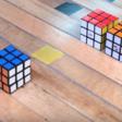 Handig: deze Rubik's Cube zet zichzelf in elkaar