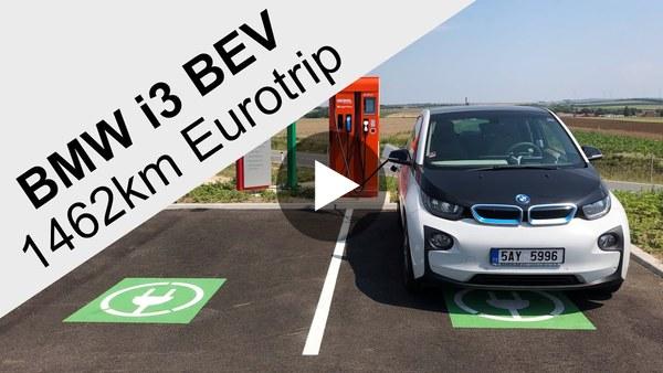 BMW i3 Eurotrip