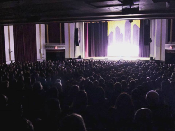 Sold out New Jersey theater show last week with Keith Alberstadt.