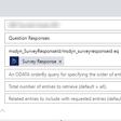 Formatting Web API query for getting VoC Survey questions