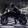 Deze 3D-geprinte elektrische motorfiets rijdt op luchtloze banden