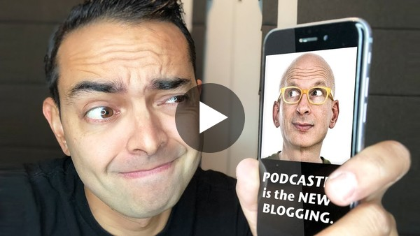 "Re: Seth Godin on ""Podcasting is the New Blogging"" (& What This Means for Your Traffic)"