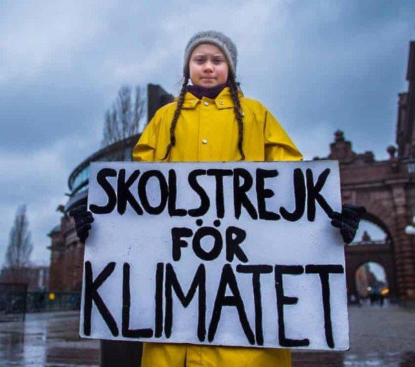 Greta Thunberg - Reuters