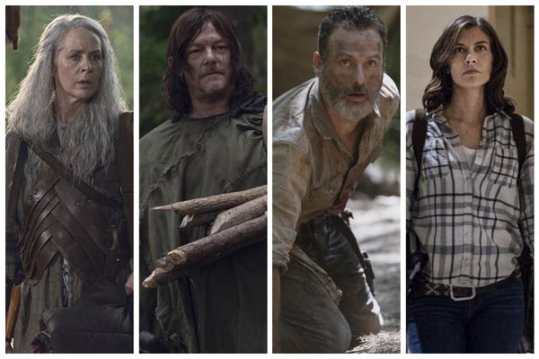 'The Walking Dead': cómo han evolucionado los personajes