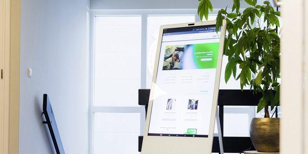 PixioDisplay: een display met touchscreen - EventGoodies