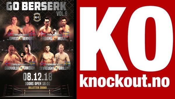 Live K1 Kickboxing - Go Berserk Vol 6