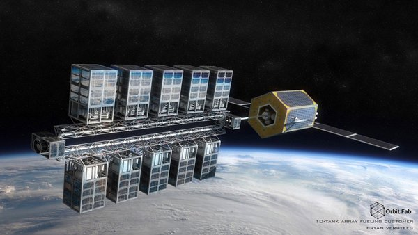 A startup is about to test a 'gas station in space' that could one day refuel satellites - MIT Technology Review
