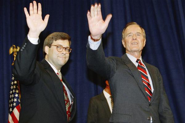William Barr diende al eerder als minister van Justitie onder George H.W. Bush (foto: Reuters)