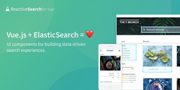 Vue.JS Components for building Search UIs