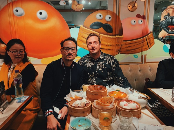 Yum Cha with Alex Theuma from SaaStock - he is bringing their huge SaaS conference to Hong Kong in May 2019.