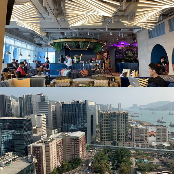 naked Hub's gorgeous new Kwun Tong space - look at that view!
