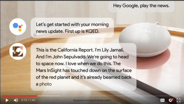 Google is launching a voice-driven version of Google News for smart speakers and phones » Nieman Journalism Lab