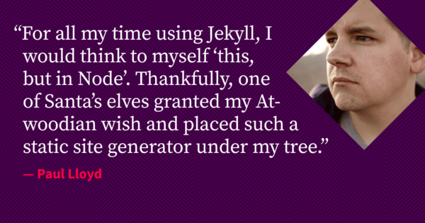 Turn Jekyll up to Eleventy ◆ 24 ways