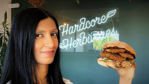 Sunfed founder Shama Lee with her plant-based chicken