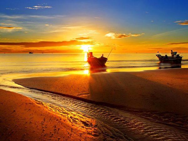 Het strand van Hua Hin.