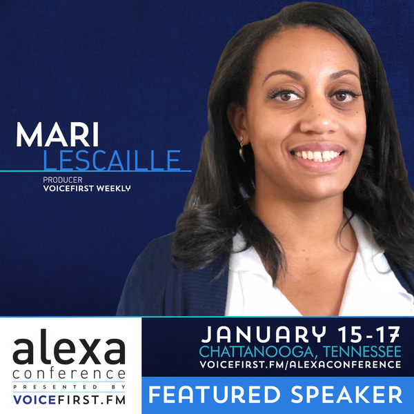 Join me in January at The Alexa Conference.