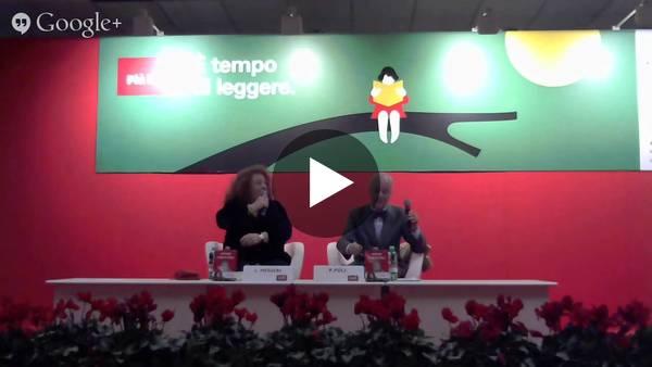 La registrazione dell'incontro con l'indimenticabile Paolo Poli a Più libri più liberi 2014