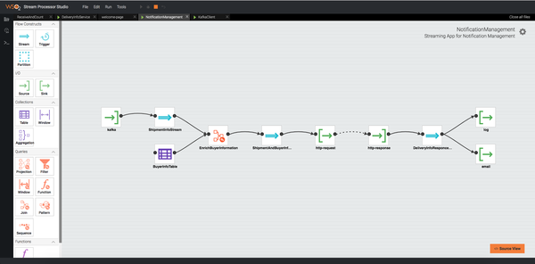 Building streaming pipelines with WSO2 Stream Processor and Siddhi.