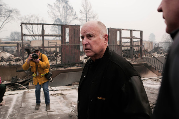 California Gov. Jerry Brown tells fire victims this is the new abnormal and global warming is just going to keep getting worse. Should fire victims rebuild or relocate? - Job One for Humanity