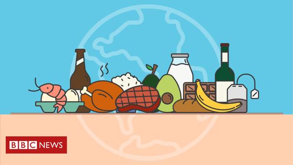 Klimarechner: So viel CO₂ fällt bei Apfel, Milch und Fleisch an