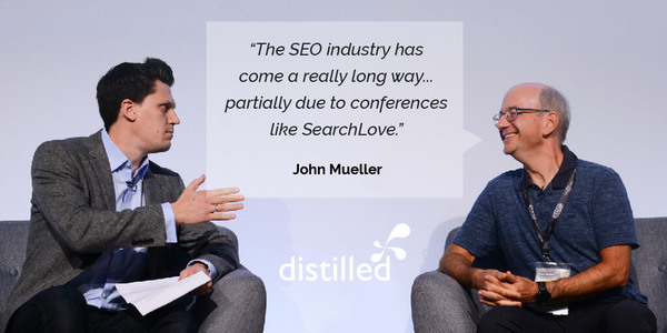Interviewing Google's John Mueller at SearchLove: domain authority metrics, sub-domains vs. sub-folders and more | Distilled