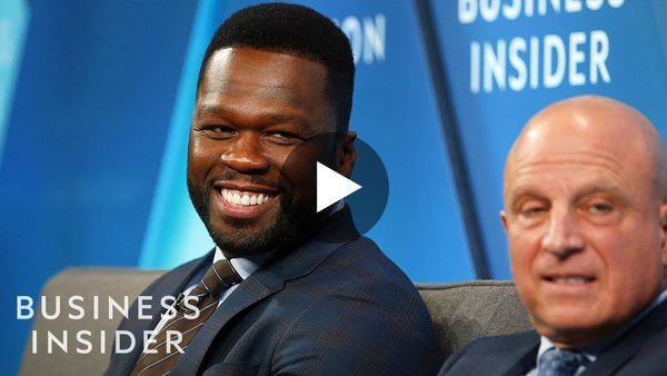 50 Cent And Starz CEO Chris Albrecht Talk 'Power' And Finding Success In TV | 2018