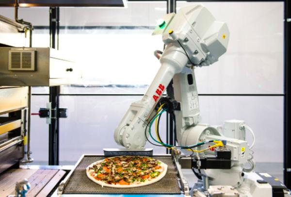 Pic.2 Zume Pizza's robot