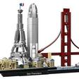Binnenkort bouw je met LEGO ook de skylines van San Francisco en Parijs