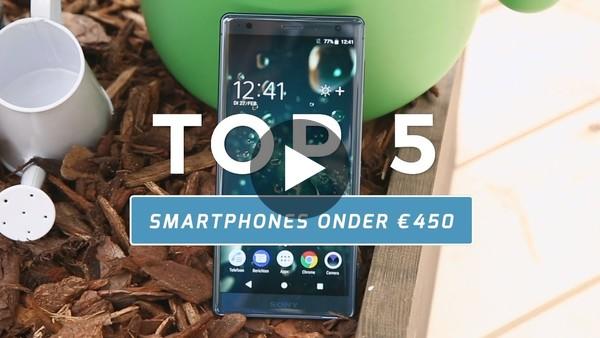 Top 5: dit zijn de beste smartphones onder €450