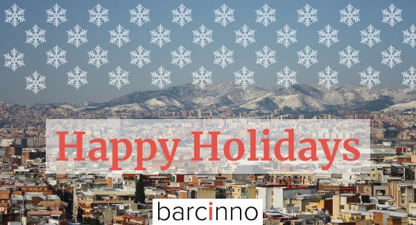 Barcinno wishes you Happy Holidays and all the best in the year to come!