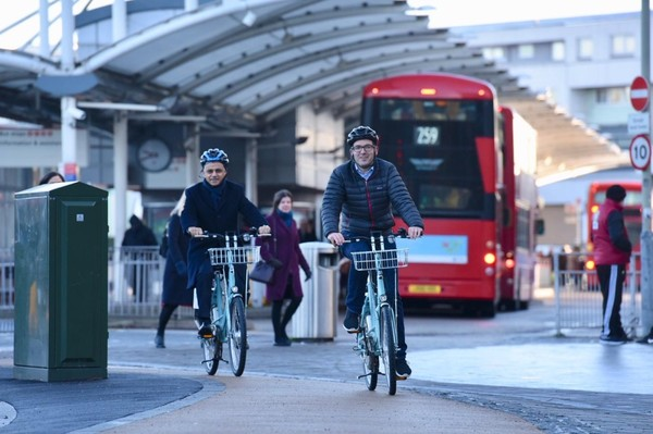 Mayor launches plan to get more Londoners cycling