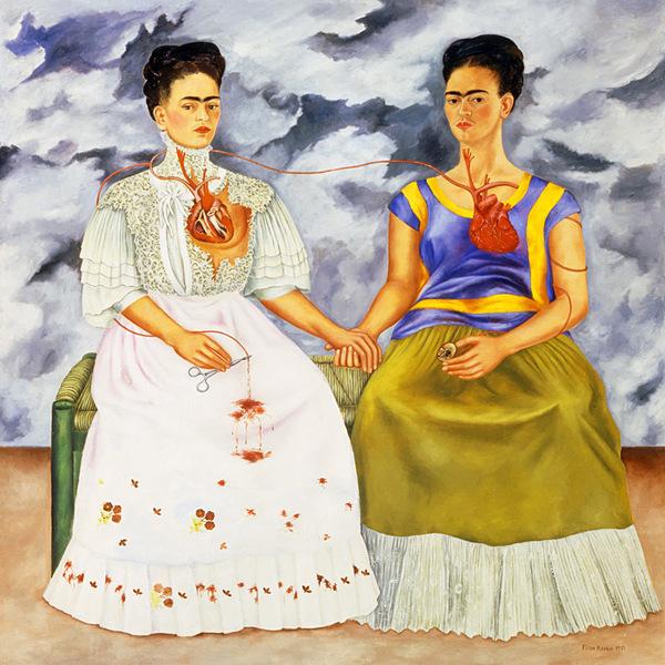 Suite au divorce avec Diego Rivera..