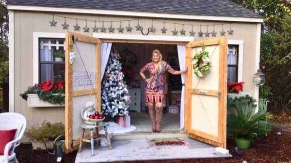 She Shed: A woman's backyard getaway