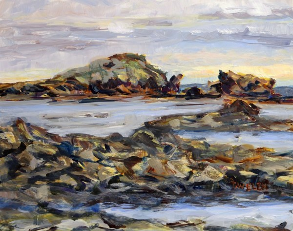 Oyster Bay Morning Rain by Terrill Welch | Artwork Archive