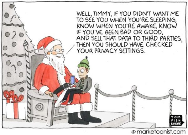 Data, Privacy, and Brand Trust cartoon | Marketoonist | Tom Fishburne