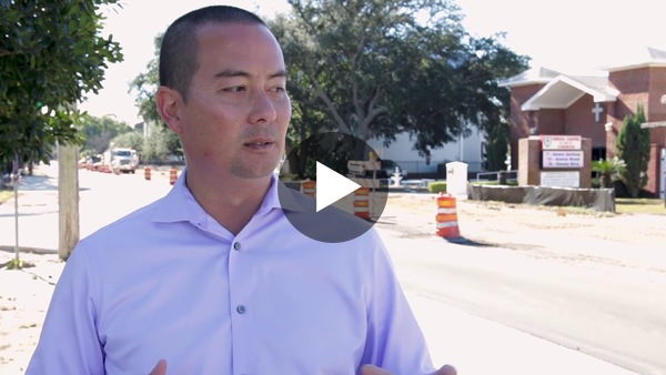 Carson Drive Streetscape Project in Fort Walton Beach