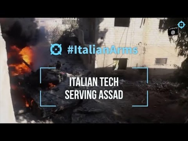 #ItalianArms Italian tech serving Assad