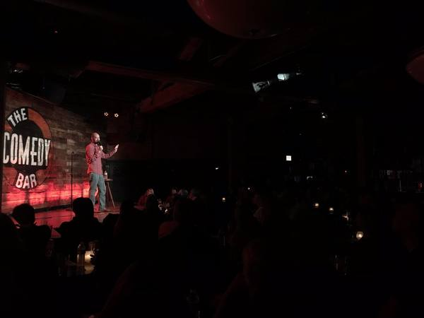 Live at Comedy Bar in Chicago.