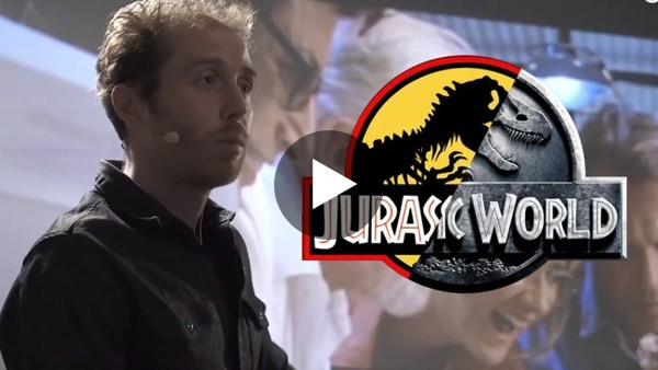 Mike Hill over Jurassic Park