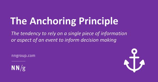 The Anchoring Principle