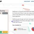 MailDump. Une suite pour trouver, collecter et vérifier des emails