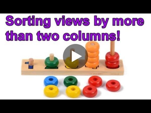 Dynamics 365 2MT Episode 49: Sorting views by more than 2 columns!