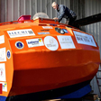 Jean-Jacques Savin: Frenchman sets off to cross Atlantic in a barrel