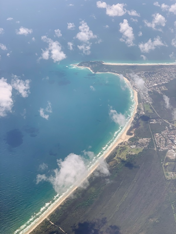 Byron Bay from the sky