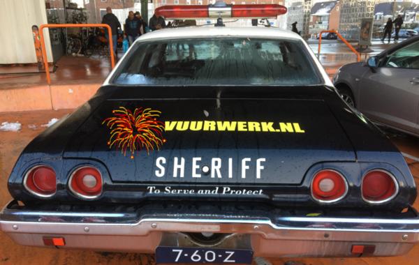 klik op SHERIFF om bij de agenda te komen