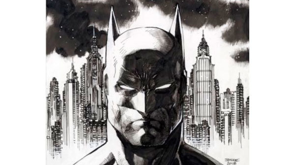 Jim Lee - Batman Original Art